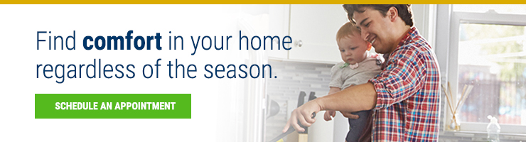 Find comfort in your home regardless of the season